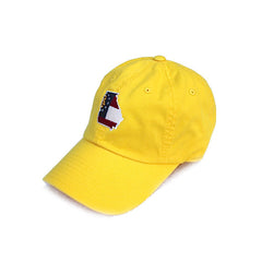 Georgia Traditional Hat Yellow