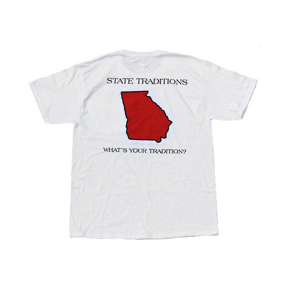 Georgia Athens Gameday T-Shirt White