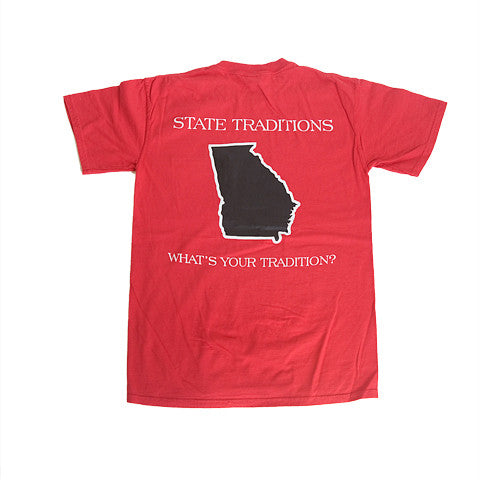 Georgia Athens Gameday T-Shirt Red