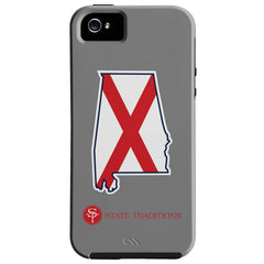 Alabama Traditional iPhone Case Grey