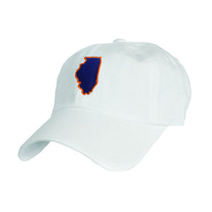 Illinois Champaign Gameday Hat White