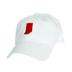 Indiana Bloomington Gameday Hat White