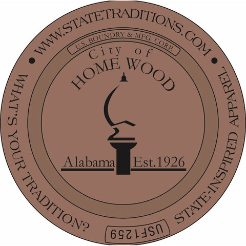 City of Homewood, Alabama - Sticker