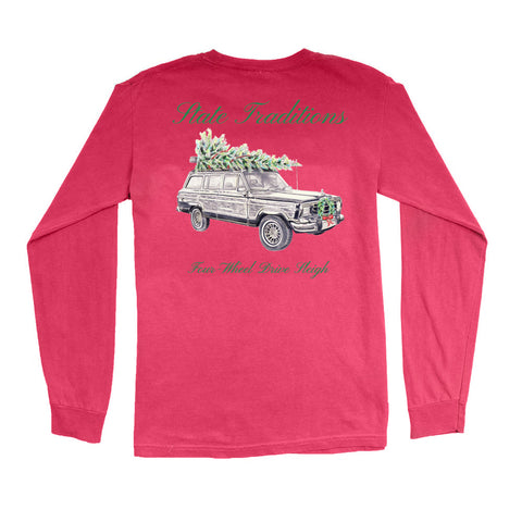 Four Wheel Drive Sleigh T-Shirt