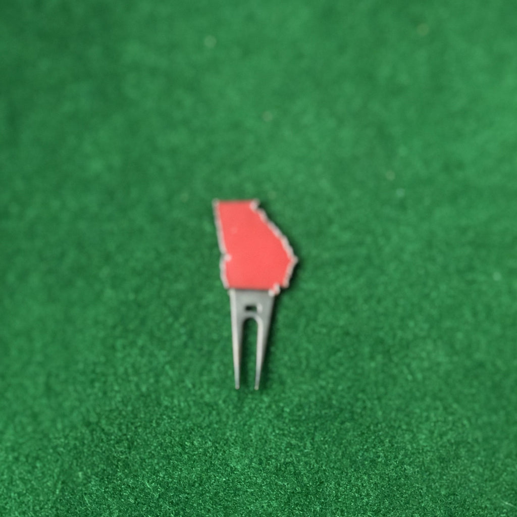 Georgia Athens Gameday Golf Divot Repair Tool