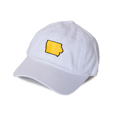 Iowa Iowa City Gameday Hat White