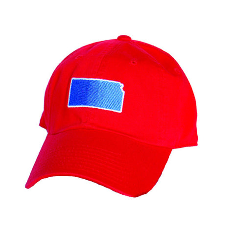 Kansas Lawrence Gameday Hat Red