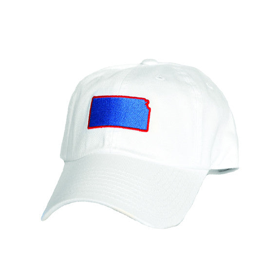 Kansas Lawrence Gameday Hat White
