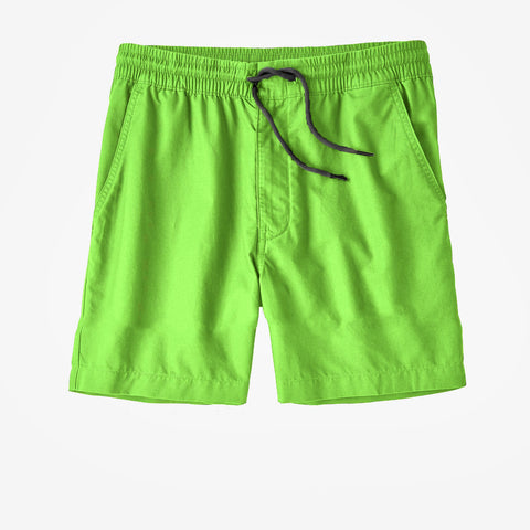 Coastal Swim Trunks - Key Lime