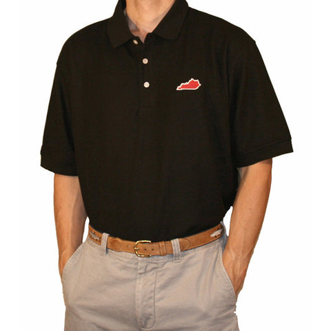 Kentucky Louisville Gameday Polo Black