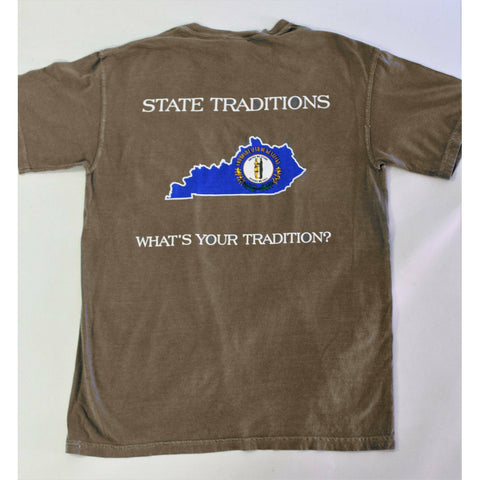 Kentucky Traditional T-Shirt Khaki