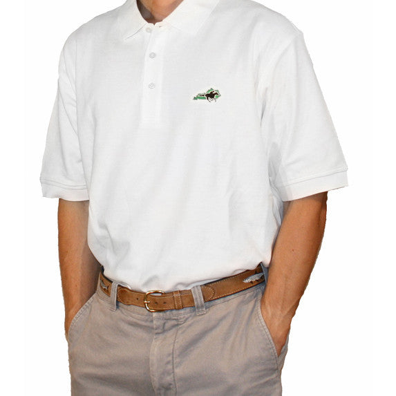 Kentucky Traditional Polo White