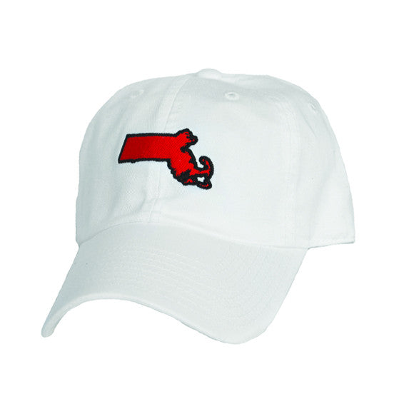 Massachusetts Cambridge Gameday Hat White