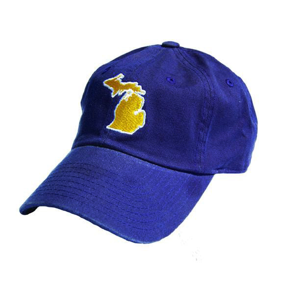 Michigan Ann Arbor Gameday Hat Blue
