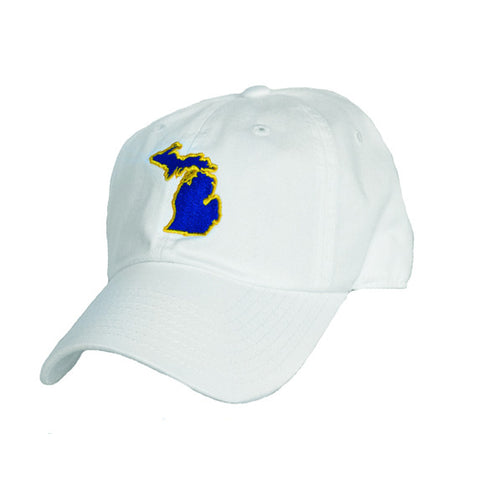 Michigan Ann Arbor Gameday Hat White