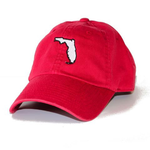 Florida South Beach Gameday Hat Red