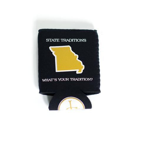 Missouri Columbia Gameday Koozie Black