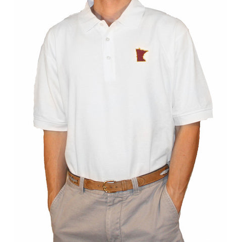 Minnesota Twin Cities Gameday Polo White