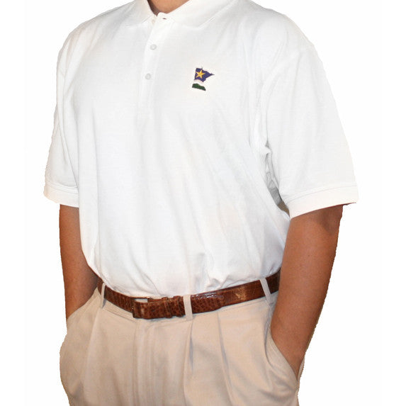Minnesota Traditional Polo White
