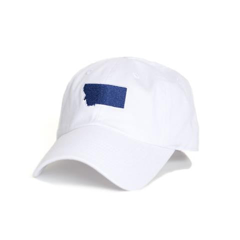 Montana Bozeman Gameday Hat White