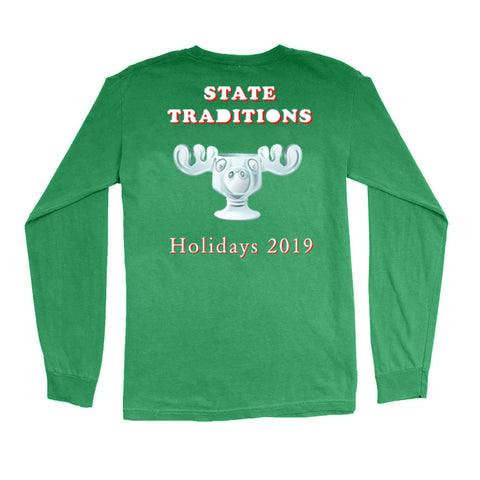 Moose Cup Holiday T-Shirt