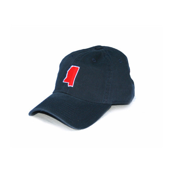 Mississippi Oxford Gameday Hat Navy