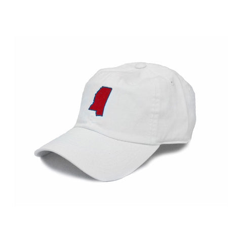 Mississippi Oxford Gameday Hat White