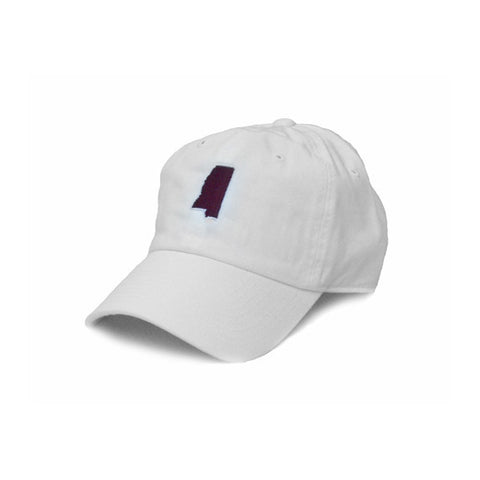 Mississippi Starkville Gameday Hat White