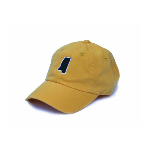 hattisburg mississippi, MS Hat, Mississippi Hat, Gold and Black