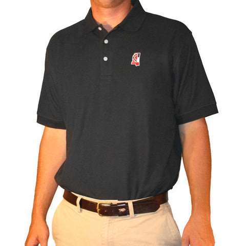 Mississippi Traditional Polo Navy