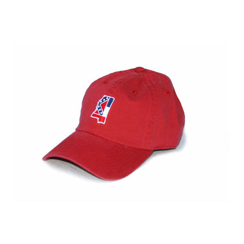 Mississippi Traditional Hat Red