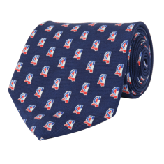 Mississippi Traditional Tie Navy