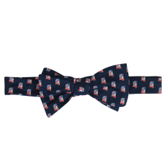 Mississippi Traditional Bow Tie Navy