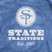 State Traditions Stars and Stripes Logo T-Shirt Navy