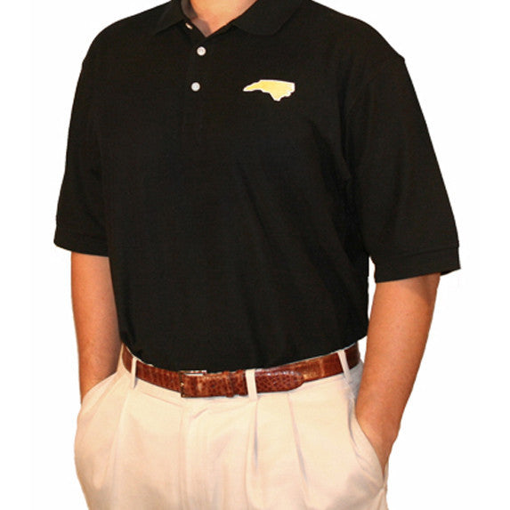 North Carolina Winston-Salem Gameday Polo Black