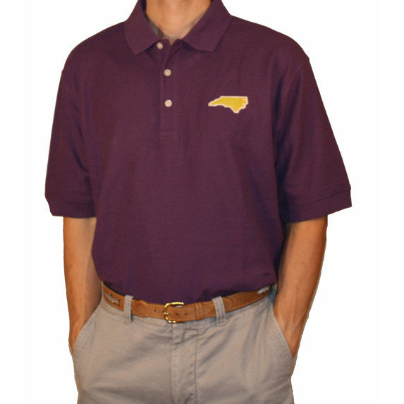 North Carolina Greenville Gameday Polo Purple