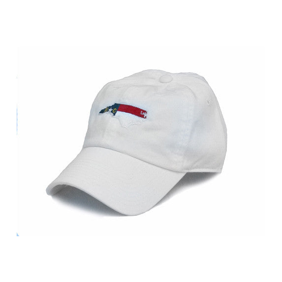 North Carolina Traditional Hat White