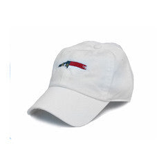 North Carolina Traditional Youth Hat White