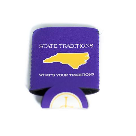 North Carolina Greenville Gameday Koozie Purple