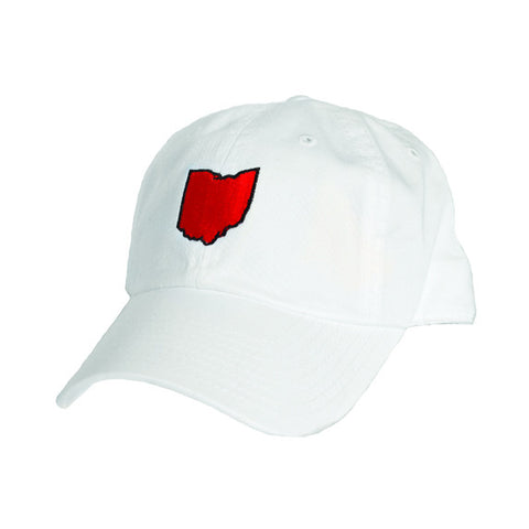 Ohio Cincinnati Gameday Hat White