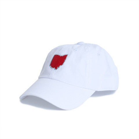 Ohio Columbus Gameday Hat White