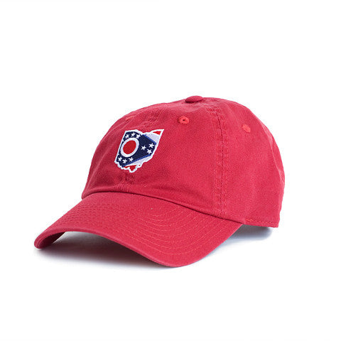 Ohio Traditional Hat Scarlet