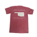 Oklahoma Norman Gameday T-Shirt Crimson