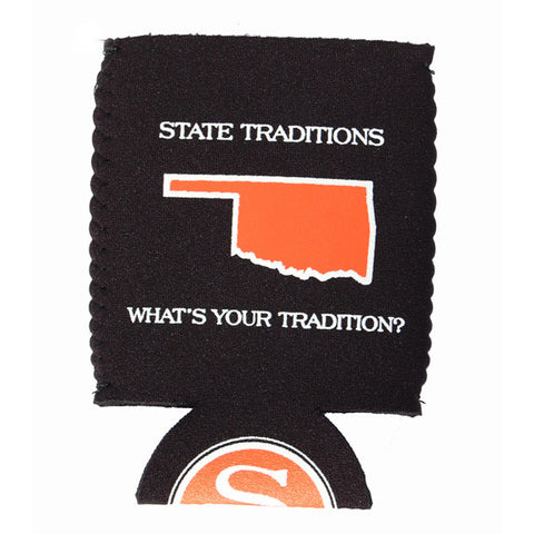 Oklahoma Stillwater Gameday Koozie