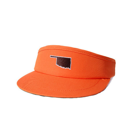 Oklahoma Stillwater Gameday Golf Visor Orange