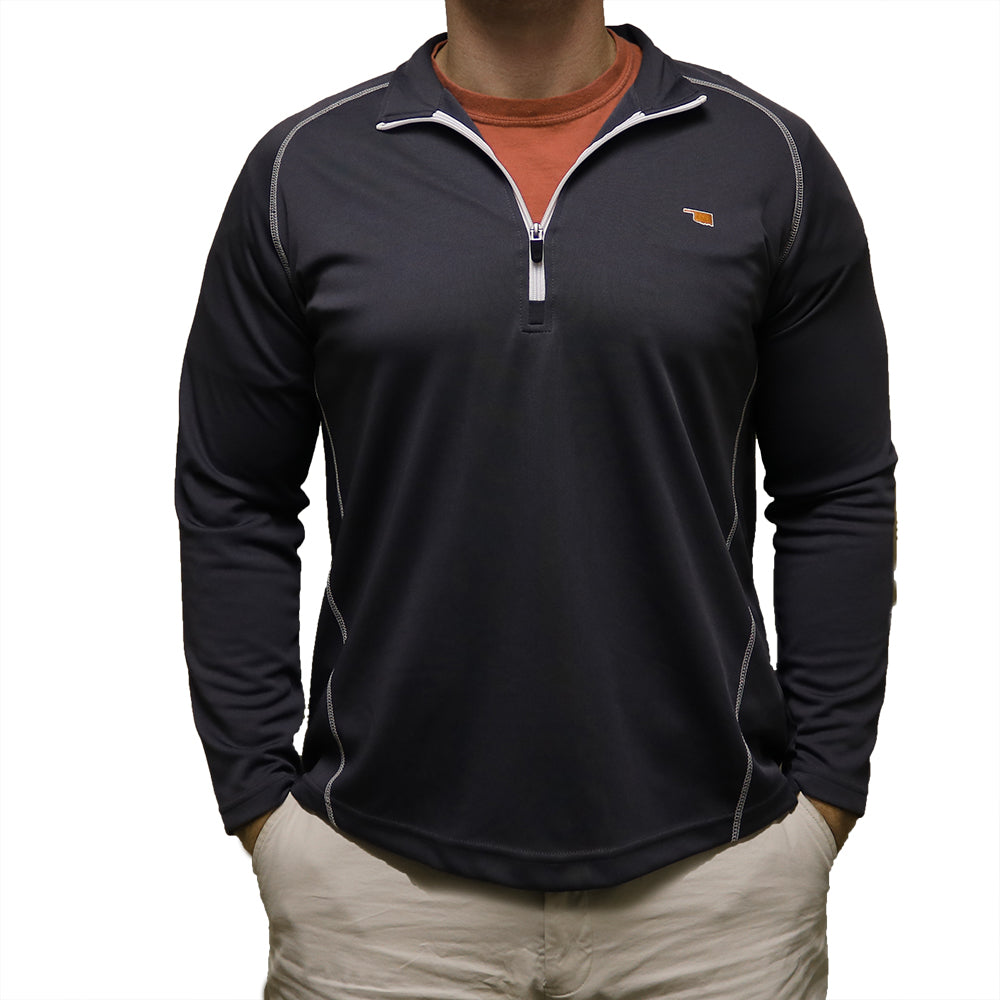 Oklahoma Stillwater Gameday Performance Pullover Black