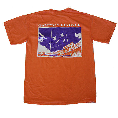 State Traditions Gameday Flyover T-Shirt Orange and Purple
