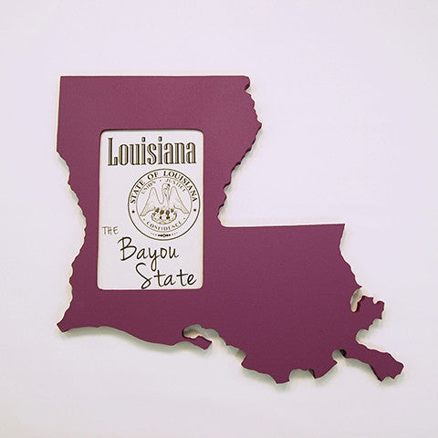 Louisiana Picture Frame