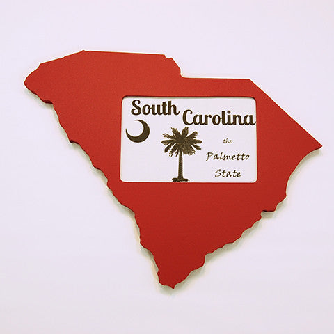 South Carolina Picture Frame Garnet