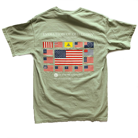 Old Glory T-Shirt Desert Storm